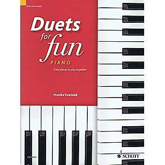 Duets for Fun: Piano: Easy Pieces to Play Together (A Treasure Chest of Duos)