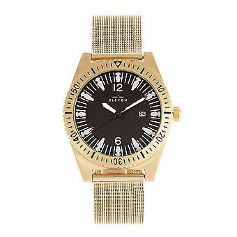 Elevon Jeppesen Bracelet Watch w/Date - Gold
