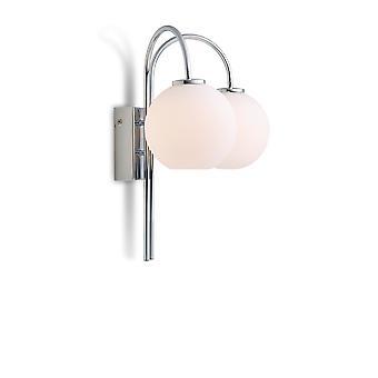 Herstal - Ballon LED Wall Light Chrome Finish 3044010120
