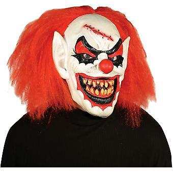 Carver maschera da Clown per Halloween