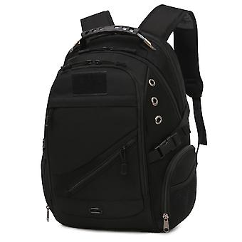 Large backpack in black, KX8818-48x30x17 cm