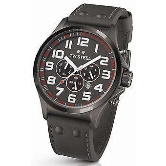 TW Steel Pilot Chronograph Watch Tw423 48 Mm