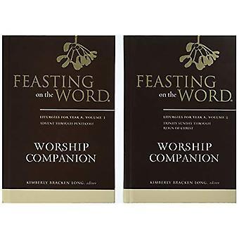 Festín del palabra culto compañero, año a - conjunto de dos volúmenes: liturgias por año un