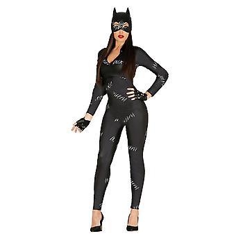 Naisten kissa nainen naamiaispuku puku