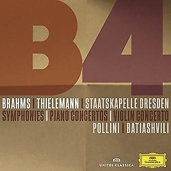 Brahms/Thielemann/Staatskapelle/Pollini - Symphonies/Piano Concertos/Violin Concerto [CD] USA import