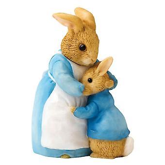 Beatrix Potter Mme Rabbit et Peter figurine