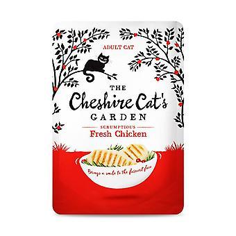 Cibo per gatti umido pollo fresco giardino di Cheshire Cat - 1 X 85g
