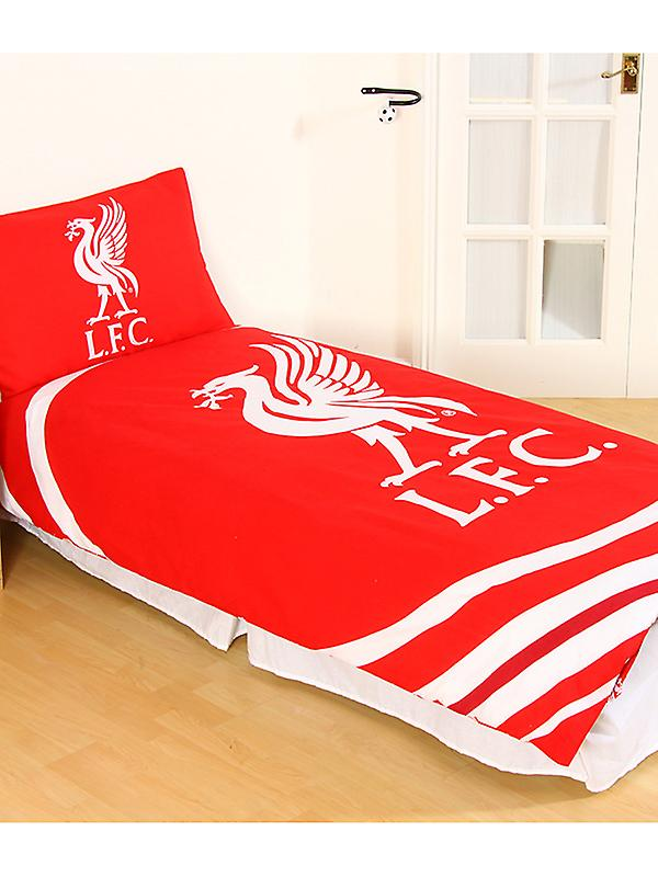 Liverpool FC Pulse Duvet Cover and Pillowcase Set