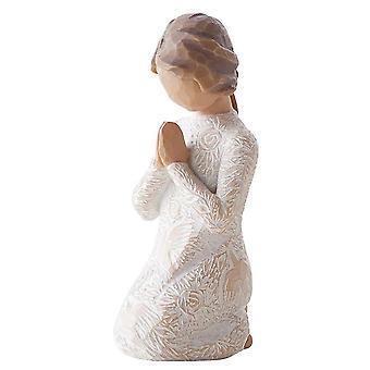 Sauce árbol oración de paz figura