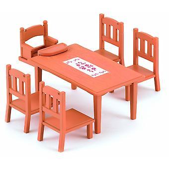 Sedie e tavolo di famiglia sylvanian Families
