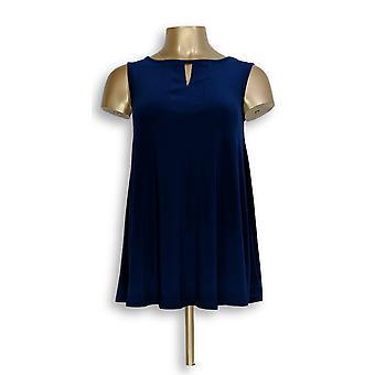 Einstellungen von Renee Frauen's Top XXS ärmelloses Stricktop blau A264269