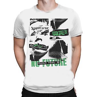 Rock off - sex pistols no future - mens t-shirt