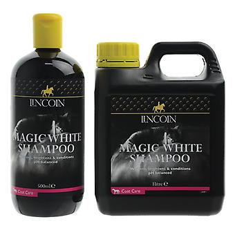 Lincoln Magic vit häst schampo 1 liter