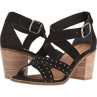 Lucky brand femei Kesey piele Open Toe casual glezna curea sandale