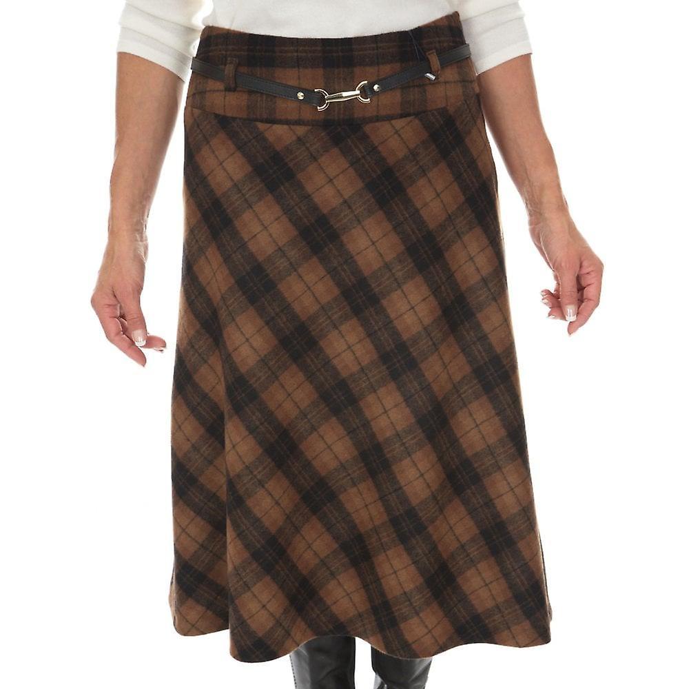 GARDEUR Gardeur Skirt Rabeaf 620440 Brown Or Plum