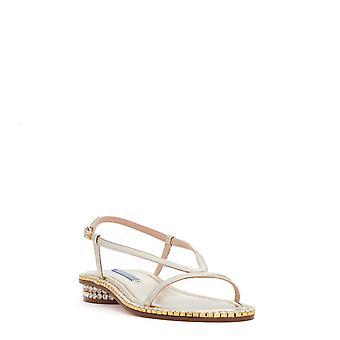 Stuart Weitzman Womens Faye Leather Open Toe Casual Ankle Strap Sandals