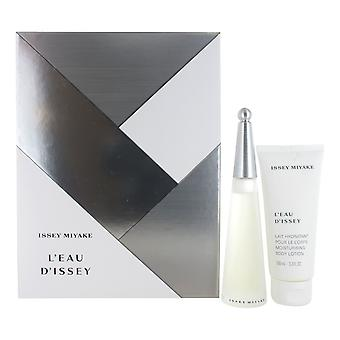 Issey Miyake L'Eau d'Issey 50ml Eau de Toilette Spray and 100ml Body Lotion Gift Set for Women