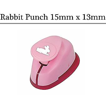15mm Small Rabbit Lever Action Craft Punch| Papercraft Punches
