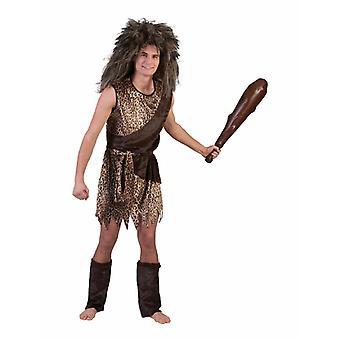 Neandertaler Herrenkostüm Steinzeit Mann Wilder Herren Kostüm