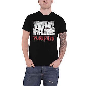 Warfare T Shirt Pure Filth Band Logo new Official Mens Black