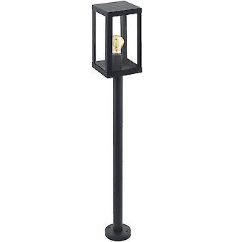 Eglo Alamonte Steel Outdoor Standing Lantern Post Light