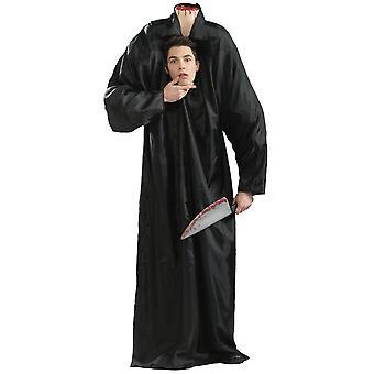 Headless Man Horseman Ghost Sleepy Horror Halloween Adult Mens Costume One Size