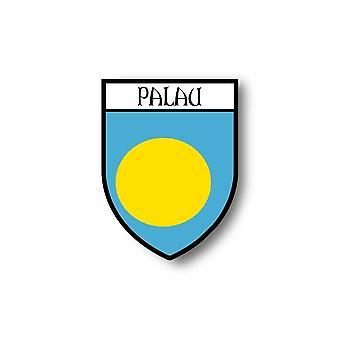 Sticker Sticker Sticker Car Moto Blason City Flag Palau