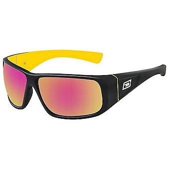 Dirty Dog Ultra Sunglasses - Black/Yellow/Red