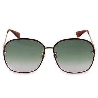 Gucci Oval Sunglasses GG0228S 001 63