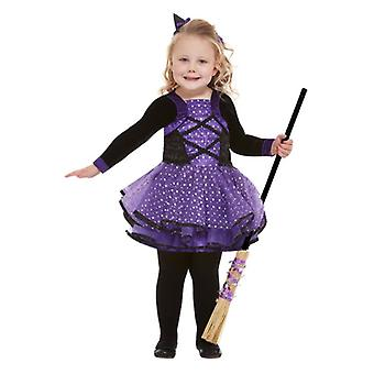 Les tout-petits Halloween Pretty Star Witch Fancy Costume
