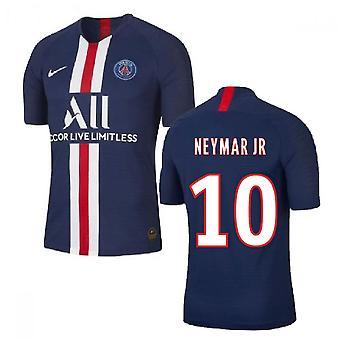 2019-2020 باريس سان جيرمان الرئيسية نايكي لكرة القدم قميص (نيمار JR 10)