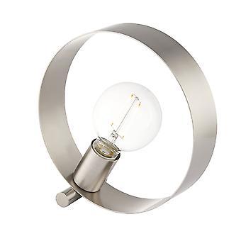 Endon hoepel 1 Lichttafel licht geborsteld nikkel 90453