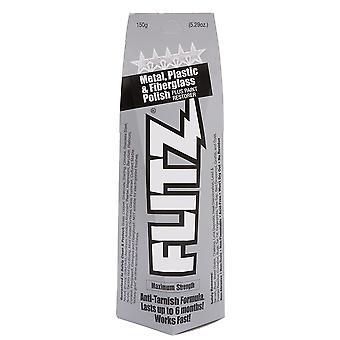 Flitz paste Polish voor metaal, kunststof, & glasvezel, grote buis, 150g #BU03515