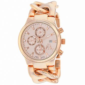 Jivago Women's Lev Rose Gold Dial Watch - JV1224