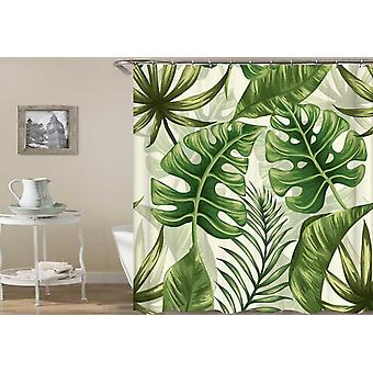 Fresh Green Shades Shower Curtain