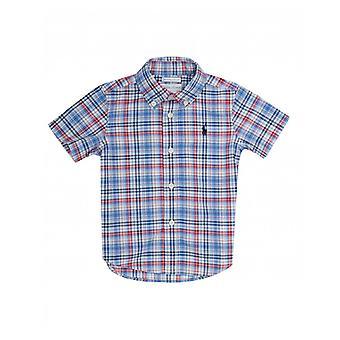 Polo Ralph Lauren Kinderbekleidung Karo-Kurzarm-Shirt