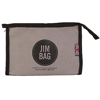 JIMBAG Grey Travel Sports Wash Bag