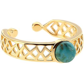 Bague Mia Dor� & Turquoise