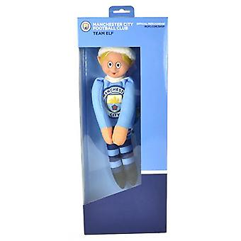Manchester City FC Official Football Christmas Team Elf