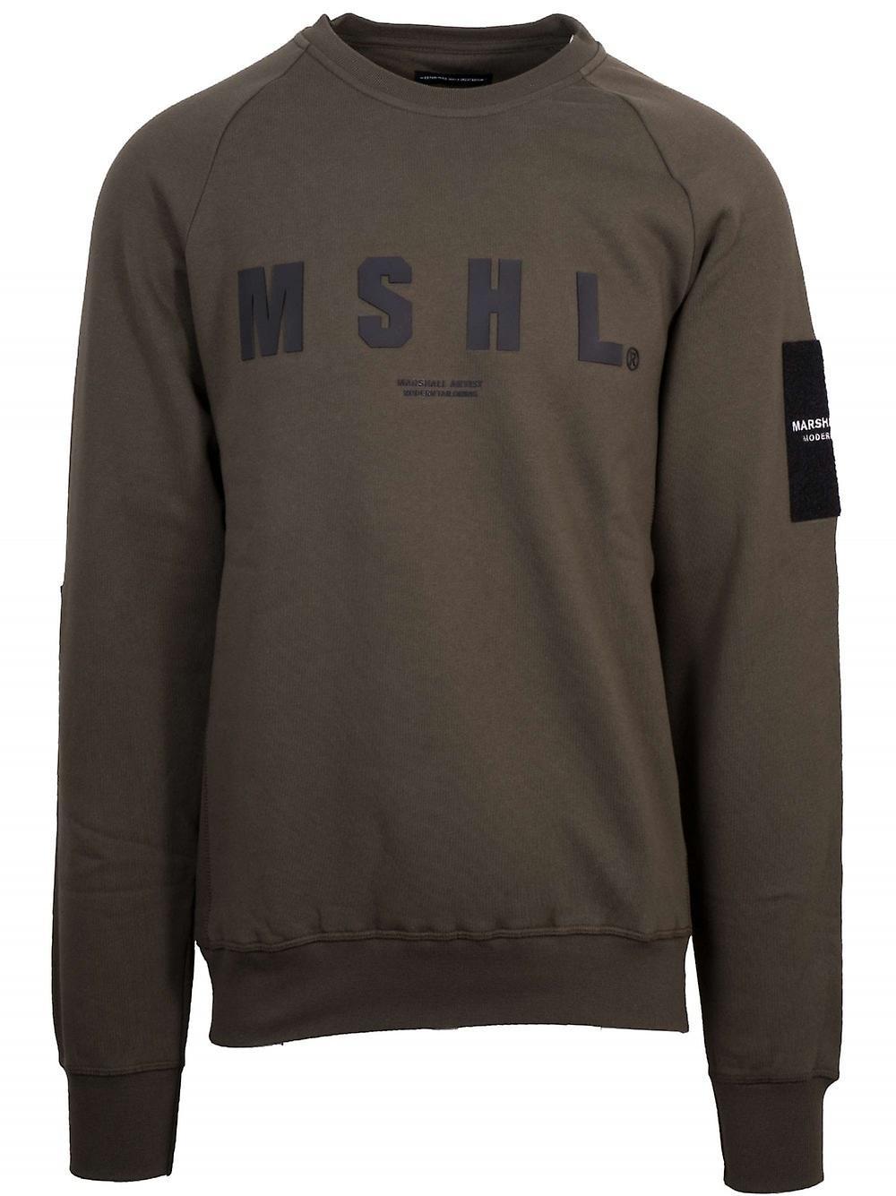 Marshall Artist Marshall Artist Khaki Hybrid Tech Sweatshirt