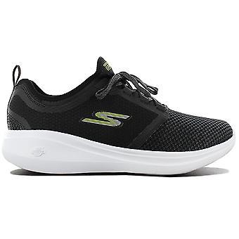 Skechers Go Run Fast Invigorate 55102-BKLM Herren Schuhe Schwarz Sneaker Sportschuhe