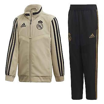 Trening Real Madrid Adidas Mini Presentation 2019-2020 Real Madrid Adidas Mini (Aur) - Sugari