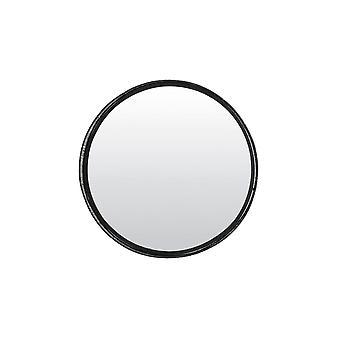 Light & Living Mirror 85cm Framed Matted Black
