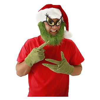 Dr Seuss The Grinch Hat with Beard