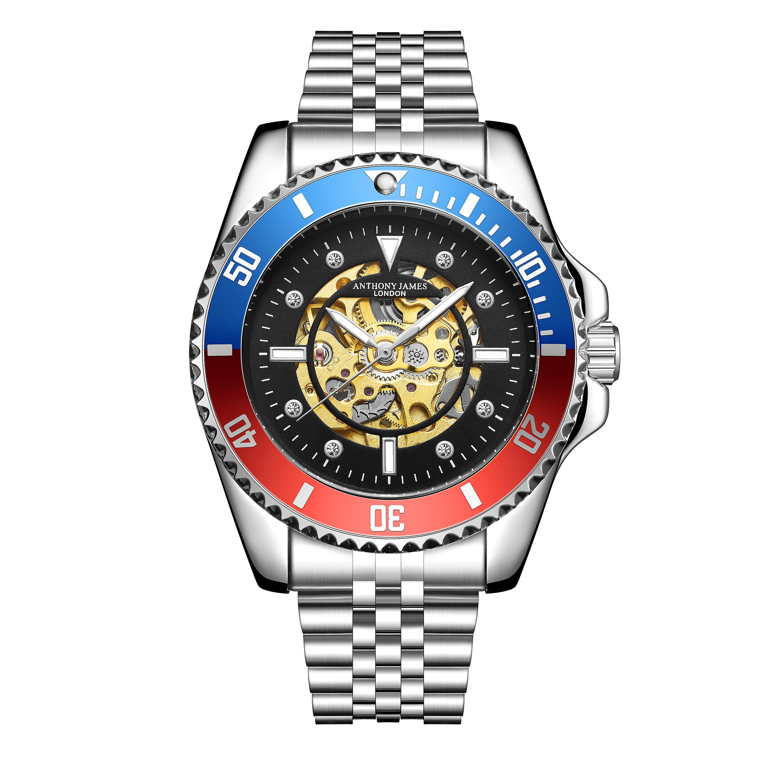 Anthony James Limited Edition Skeleton Sports Automatic Watch