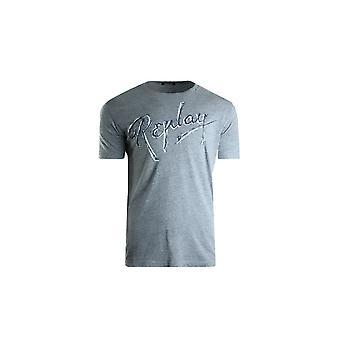Replay M37212660M02 camiseta universal de verão masculino