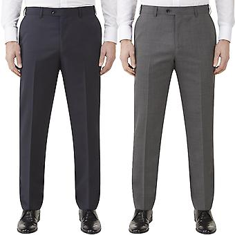 Skopes Mens Farnham Big Tall Tailored Stretch Waist Suit Trousers Pants