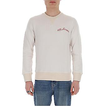 Alexander Mcqueen 599616qoz820900 Män's Vit Viscose Sweatshirt