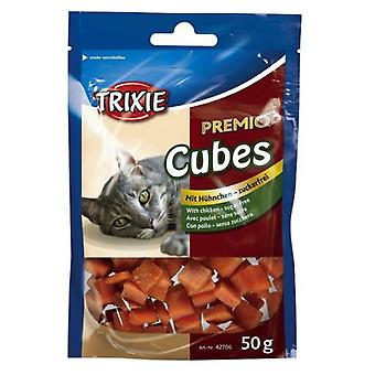 Trixie Premio Cubes, pescado (Cats , Treats , Lighter Options , Chewy & Softer Treats )