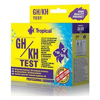 Tropical Test Gh / Kh (Fish , Maintenance , pH & Other Substance Test Strips)